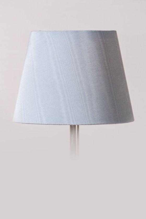 Pale blue silk lamp shade lamp shades aloadofball Images